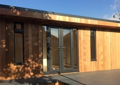 Cedar Room with Cat Walk Decking