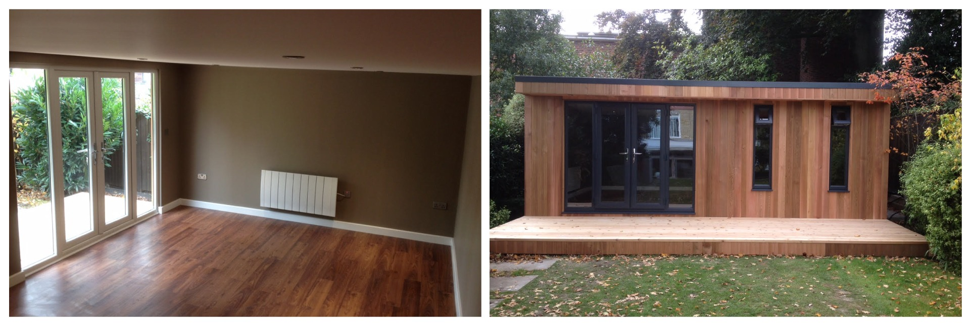 internal and external garden room