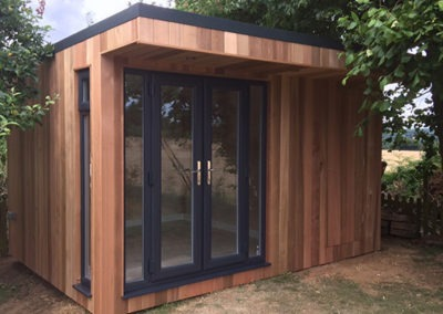 Garden Office with Under Floor Heating