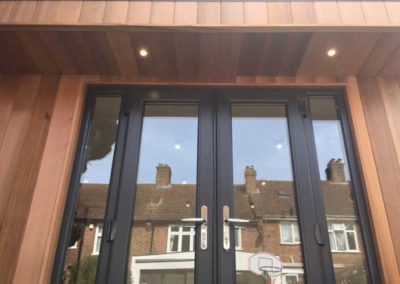 garden room double doors