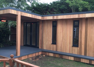 Garden Room with Decking