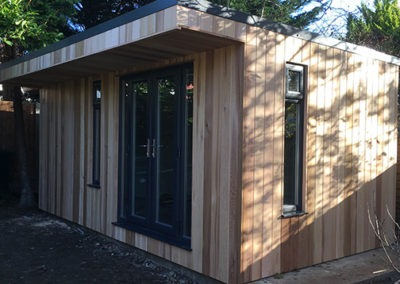 Garden Room with Side Storage