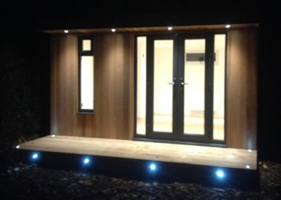 Garden Room with LED Deck in Ipswich