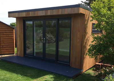 Garden Room with Sliding Doors