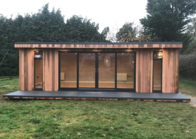 Garden Room with Anthracite Deck