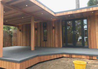 Garden Room with Large Decking Area